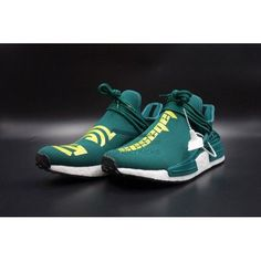 3983e7e7d Buy Best Quality UA Pharrell Williams x NMD Human Race Calabasas Green  Online