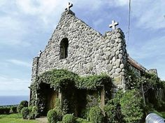 stone church in Batanes, Philippines Philippines Destinations, Batanes, Stone Houses, Dream Vacations, Beautiful Places, Relax, House Styles, Building, Cathedrals