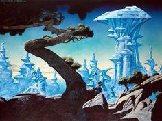 """Roger Dean - """"Freyja's Castle"""""""