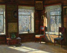 Финогенова Млада Константиновна (род. 1941) Голубая весна (1993)