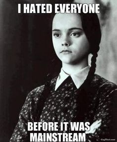 She's one step ahead of the basics. | 18 Times Wednesday Addams Was The Hero Young Girls Needed