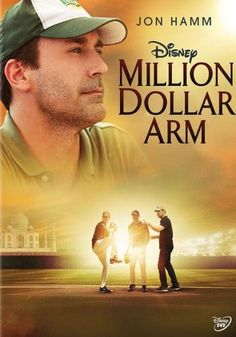 Million Dollar Arm. Awesome movie based on true events.   A nice, though not surprising film about cross-cultural kids learning the game of baseball.