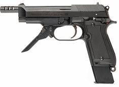 Beretta 93R, Full auto pistol