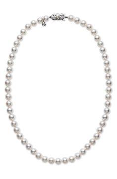 Main Image - Mikimoto Pearl Necklace
