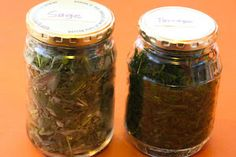 More About Freezing Fresh Herbs:  Freezing Thai Basil, Sage, Tarragon, and Mint [from KalynsKitchen.com]