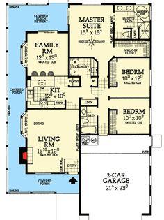 Plenty of Amenities - 81345W floor plan - Main Level