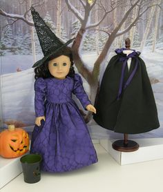 Wicked Witch costume for American Girl doll