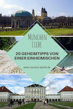 Today I have 20 Munich insider tips for you: In the current article I will introduce you to 20 popular sights in Munich - plus 20 alternative sights that are not mentioned in most travel guides. Voyage Europe, Europe Travel Guide, Backpacking Europe, Travel Guides, Africa Destinations, Travel Destinations, Munich, Paraiso Natural, Reisen In Europa