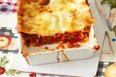 Das Rezept für Lasagne al forno und weitere kostenlose Rezepte auf LECKER.de