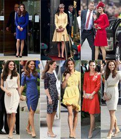 Inspiração da Semana: Kate Middleton