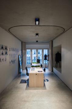 (un)curtain office by dekleva gregoric architects - News - Frameweb