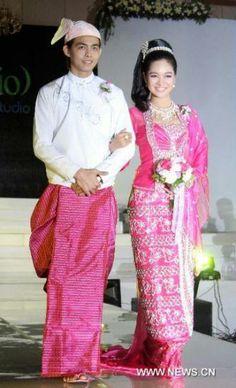 Burmese style wedding