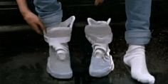 Nike Designer Confirms Back to the Future II Power Laces Will Arrive in 2015 - Back in 2011, Nike got the movie nerds and sneakerheads of the world all in a tizzy when they announced the limited release of the Nike MAG (see above), which was a replica of the