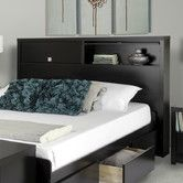 Found it at Wayfair - Designer Series 9 Bookcase Headboard $307