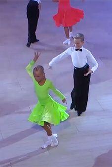 9d536583675d7 British National Dance Championships 2013 - Juvenile Latin British  National, Ballroom Dress, Latin Dance