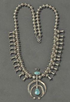 Tammy Nelson Squash Blossom Necklace