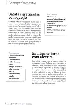 234 receitas para robôs de cozinha (2) Happy Foods, Cooking, Kitchen, Cheesy Potatoes, Recipes With Vegetables, Golden Cake, Illustrated Recipe, Recipe Books, Meals