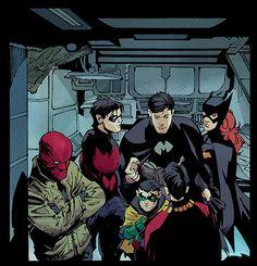 Batman and family