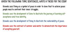 Room 213: The Joy of Leaning: Part Two - Write a thesis