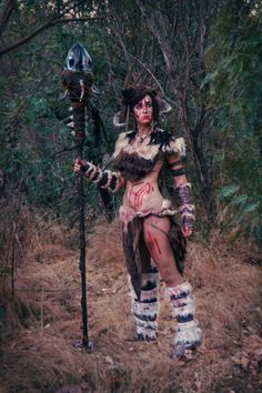 The Elder Scrolls: Skyrim Cosplay | Forsworn 2 by CosplayInABox on deviantART