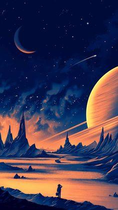 Planet Explorer iPhone Wallpaper - iPhone Wallpapers