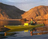 Loreto Baja California is one of the best area in Baja to kayak. The islands of Coronado, Carmen, Catalan, Montserrat and Danzante lie just off just off the coast of Loreto and offer amazing kayaking and sea kayaking opportunities. Paddle past towering volcanic peaks, miles of unexplored beaches and forests of giant cardon cactus. Enjoy fishing or viewing some of the 800 species of marine life. If you enjoy nature a kayak allows you to get closer to wildlife than if you where on a noisy…
