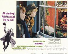 Scrooge 1970 Albert Finney lobby card.