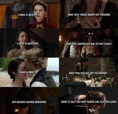 A Marie Antoinette quote that works well for any tragic queen. #Reign