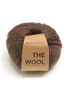 100% Peruvian Wool Brown