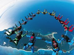 Although I am not asking my students to skydive, it is important they take healthy risks. When there is community in the classroom, students feel like they can do so.