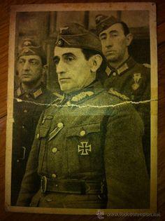 Postal Division Azul enviada desde el frente 5ªcompañia 262 regimiento (Postales - Postales Temáticas - II Guerra Mundial y División Azul)