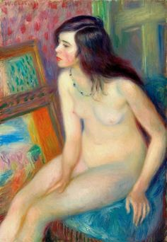 William Glackens, Temple Gold Medal Nude on ArtStack Wassily Kandinsky, William Glackens, Lawrence Lee, Ashcan School, Art Eras, Williams James, Digital Museum, Figurative Art, The Magicians