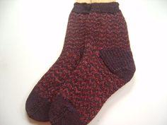 Hand Knit Socks Custom Made for littlekings by SpruceCottageKnits