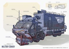 Apocalypse Character, Apocalypse Art, Apocalypse Survival, Fallout Concept Art, Bus Art, Post Apocalyptic Art, Bug Out Vehicle, Armored Vehicles, Dieselpunk