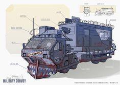 Apocalypse Character, Apocalypse Art, Apocalypse Survival, Fallout Concept Art, Bus Art, Post Apocalyptic Art, Bug Out Vehicle, Futuristic Art, Expedition Vehicle