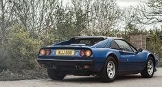 Ever thought about putting a V12 in a Ferrari 308?   Classic Driver Magazine