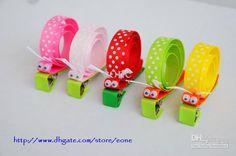Wholesale Hair Clip - Buy Kids Sculpture Ribbon Bow Baby Grosgrain Hair Clip Children Animal Clips Christmas Tree Pumpkin, $2.37 | DHgate