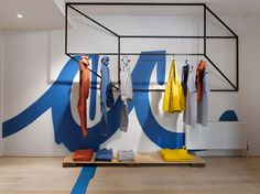 """ANNIE AIME BOUTIQUE, Toronto, Canada, """"Keep it Casual"""", creative by Pascal Paquette, pinned by Ton van der Veer"""