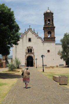 Atrio de los olivos, Tzintzuntzan, Michoacán.