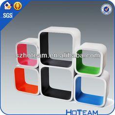diy mdf cubo flotante estante de la pared-Otros muebles de hogar-Identificación del producto:724193007-spanish.alibaba.com