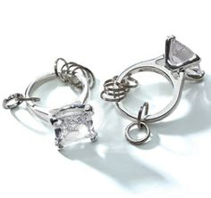 Diamond Wedding Theme   Diamond Wedding Accessories
