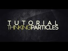 How to Use the Thinking Particle System in Cinema 4D (A Cinema 4D Tutorial) - YouTube