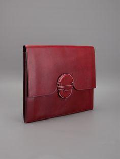 Hermès Vintage porte-documents en cuir