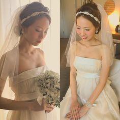 クールな表情もキュートな表情も素敵です ナチュラルなドレスにはチークリップでポイントを出しました #kumikoprecious #hawaii #hawaiiwedding #wedding #weddinghair #weddingmakeup #makeup #beautiful #cute #bride #bridehair #bridemakeup #ハワイ#ハワイ挙式#ハワイウェディング#ウェディング#結婚式#花嫁#プレ花嫁#おしゃれ花嫁 #ヘアメイク#ヘアスタイル#ヘアアレンジ#メイクアップ#メイク#チーク#リップ#カチューシャ#エンパイアドレス by kumiko_makeup_hi