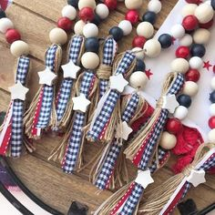 4th July Crafts, Fourth Of July Decor, 4th Of July Decorations, July 4th, Americana Crafts, Patriotic Crafts, Summer Crafts, Holiday Crafts, Crafts For Kids