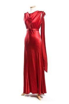 Evening dress, 1930s | Flickr - Photo Sharing!