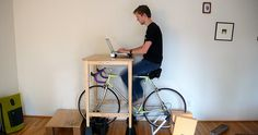 bike desk - Cerca con Google
