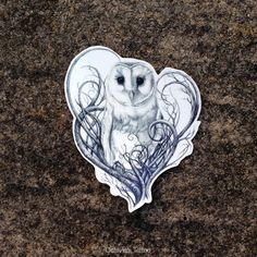 Hey, I found this really awesome Etsy listing at https://www.etsy.com/listing/214351440/barn-owl-temporary-tattoo-owl-barn-owl