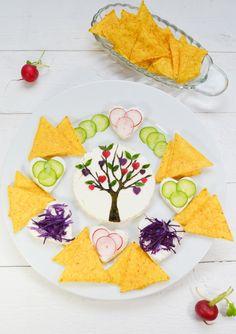Saint Valentine's day snack #cute #foodart