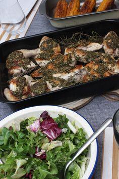 Jamie Oliver 30 Minuten Kochbuch diesmal das Jamaika - Hähnchen Menü